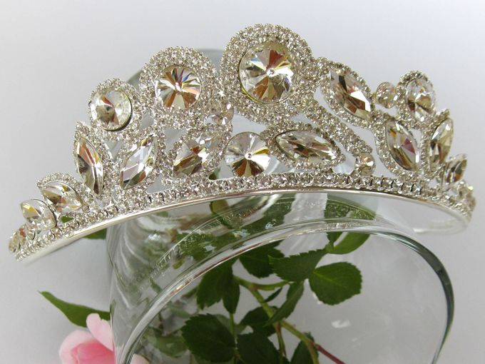Bridal Tiara by Pamela Falli - 005