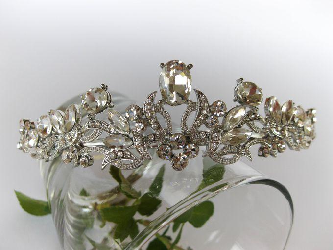 Bridal Tiara by Pamela Falli - 010