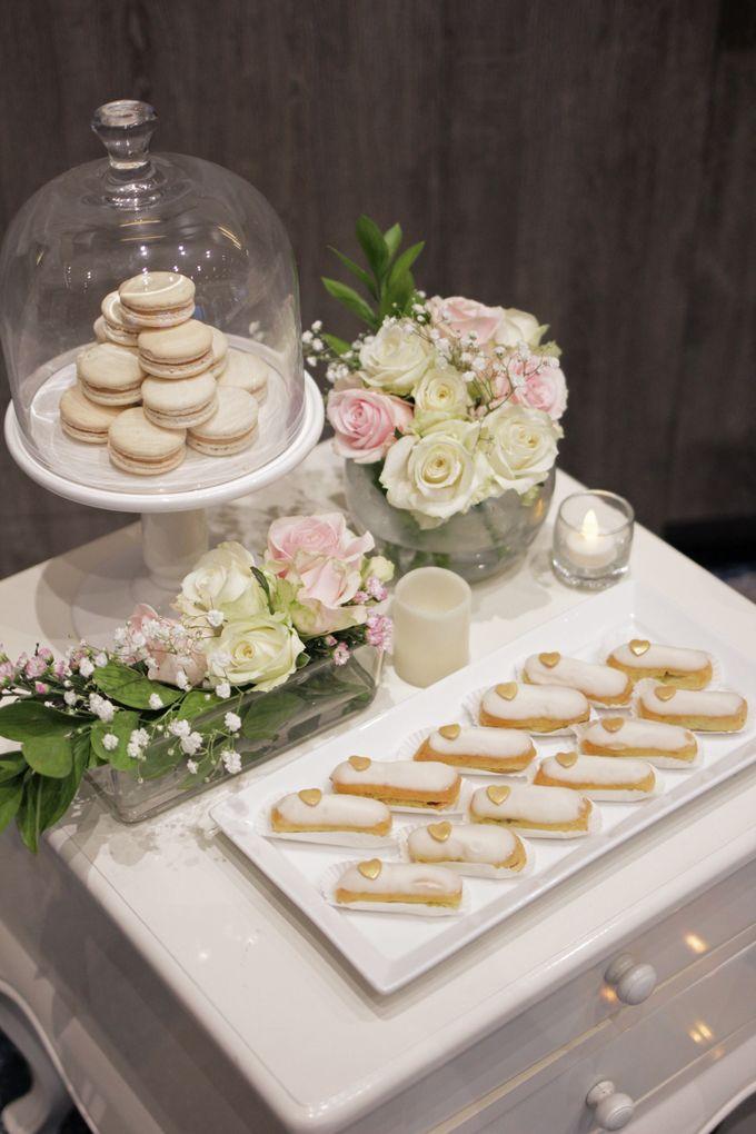 Romantic Dessert Table by Gordon Blue Cake - 012