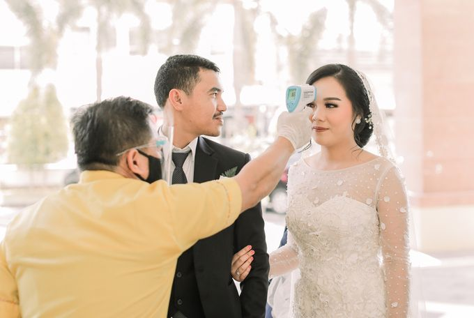 Real intimate wedding on pandemic 2020 MARIA & GALUNG by Kimus Pict - 024