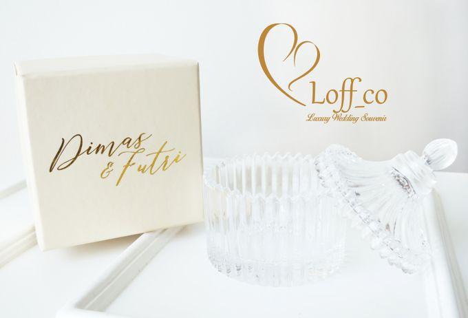 Luxury Crystal Grid & Ceramic Jar by Loff_co souvenir - 007