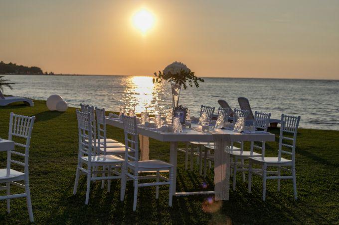Beach wedding by Diamond Events - 001