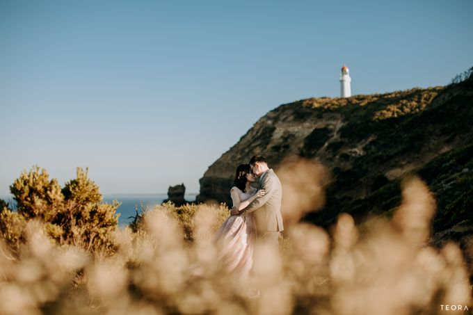 Henry & Milla Melbourne Prewedding by attelia bridal - 006