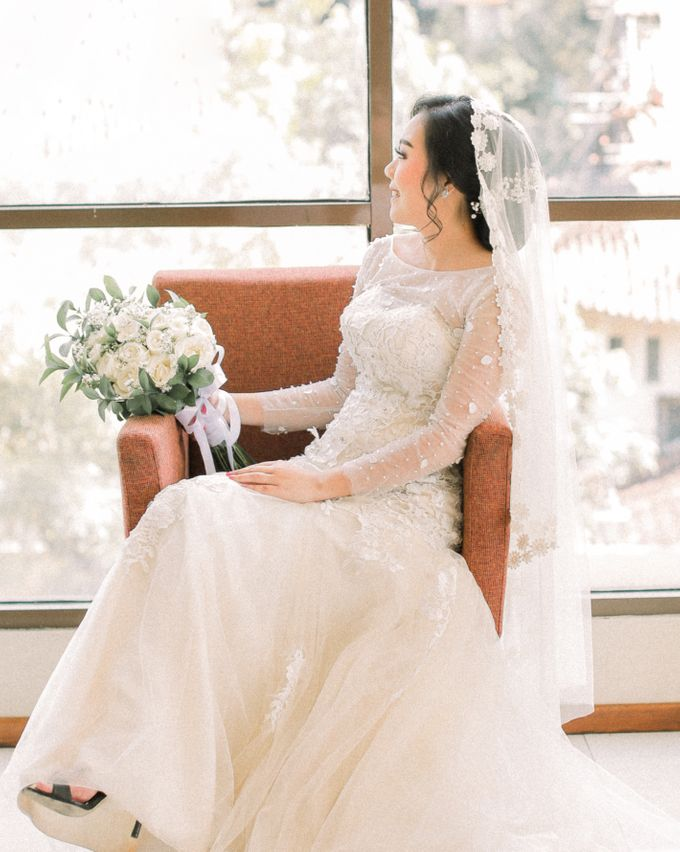 Real intimate wedding on pandemic 2020 MARIA & GALUNG by Kimus Pict - 004