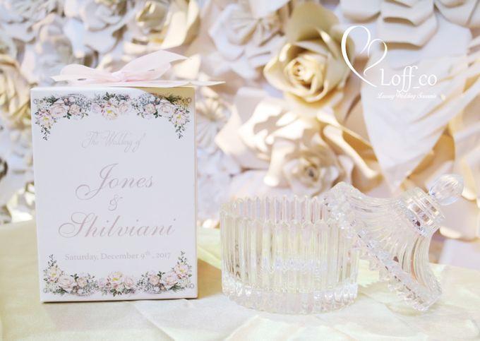 Luxury Crystal Grid & Ceramic Jar by Loff_co souvenir - 010
