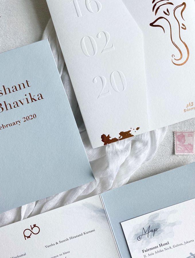 Prashant & Bhavika Trifold Invitation by Sho Paper - 003