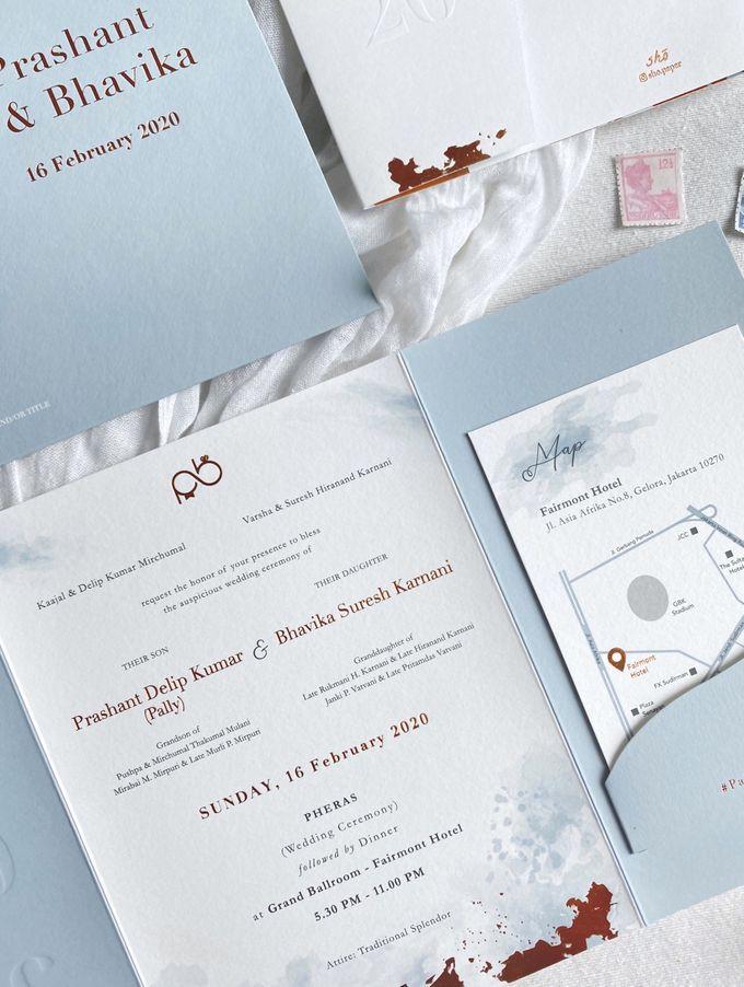Prashant & Bhavika Trifold Invitation by Sho Paper - 002