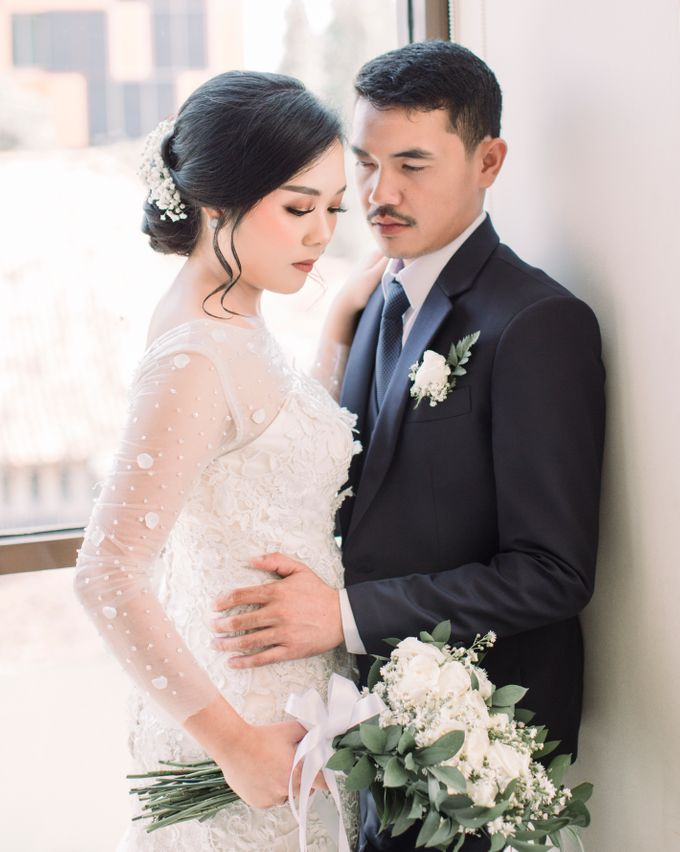 Real intimate wedding on pandemic 2020 MARIA & GALUNG by Kimus Pict - 005