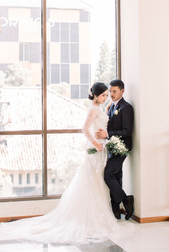 Real intimate wedding on pandemic 2020 MARIA & GALUNG by Kimus Pict - 002