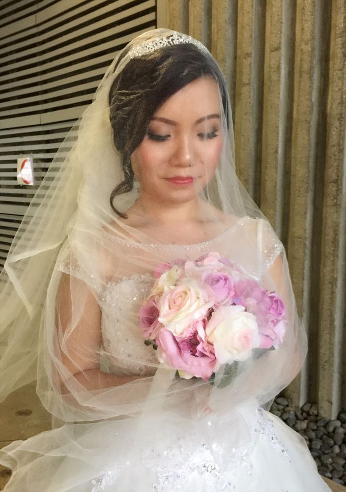 Actual Wedding day of SW by Lili Makeup Specialist - 001
