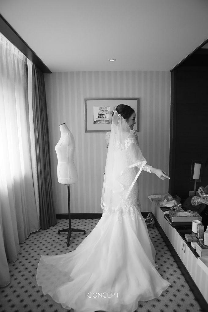 Laura dan Rusman Wedding by Ivone sulistia - 001