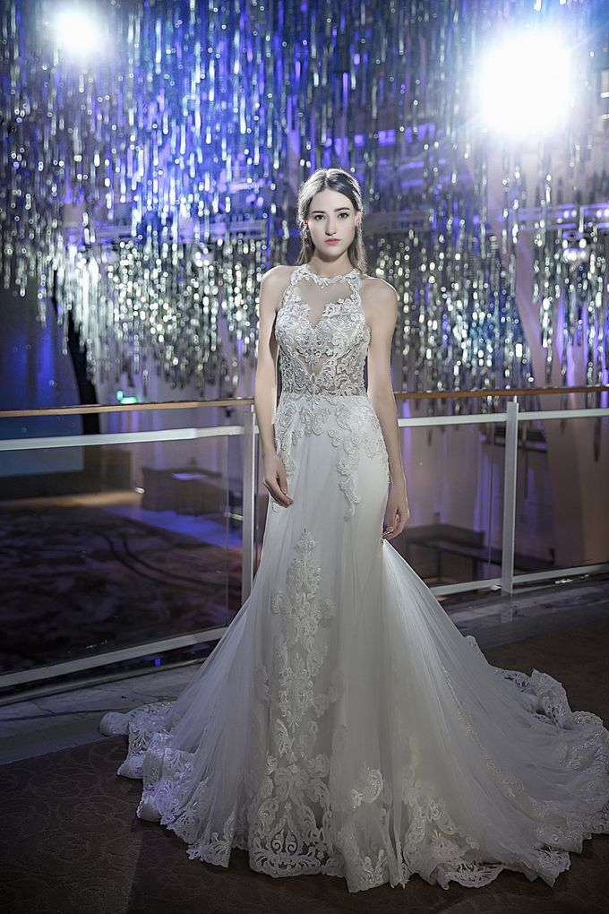 Signature Bridal Gown Range - Luminous by La Belle Couture Weddings Pte Ltd - 010