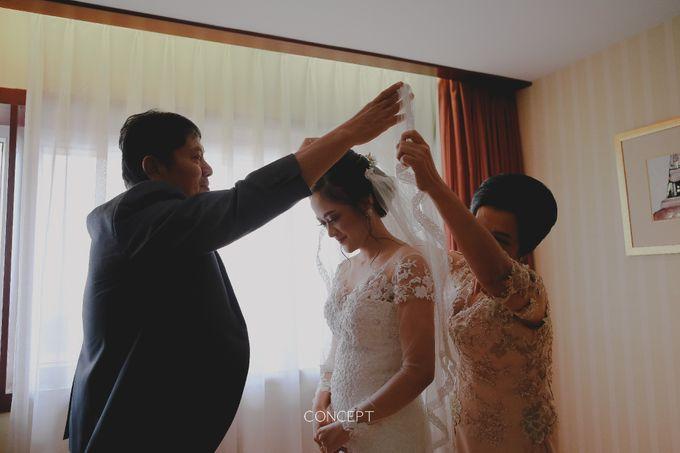 Laura dan Rusman Wedding by Ivone sulistia - 002