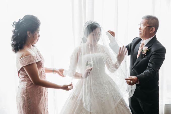 Indra & Yoan Wedding at Hilton by PRIDE Organizer - 002