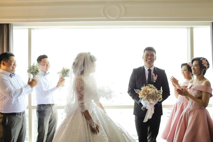 The Wedding of Audy & Caroline by Wong Hang Distinguished Tailor - 020
