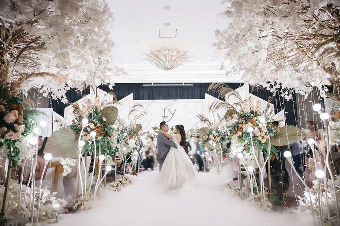 Indra & Yoan Wedding at Hilton by PRIDE Organizer - 004