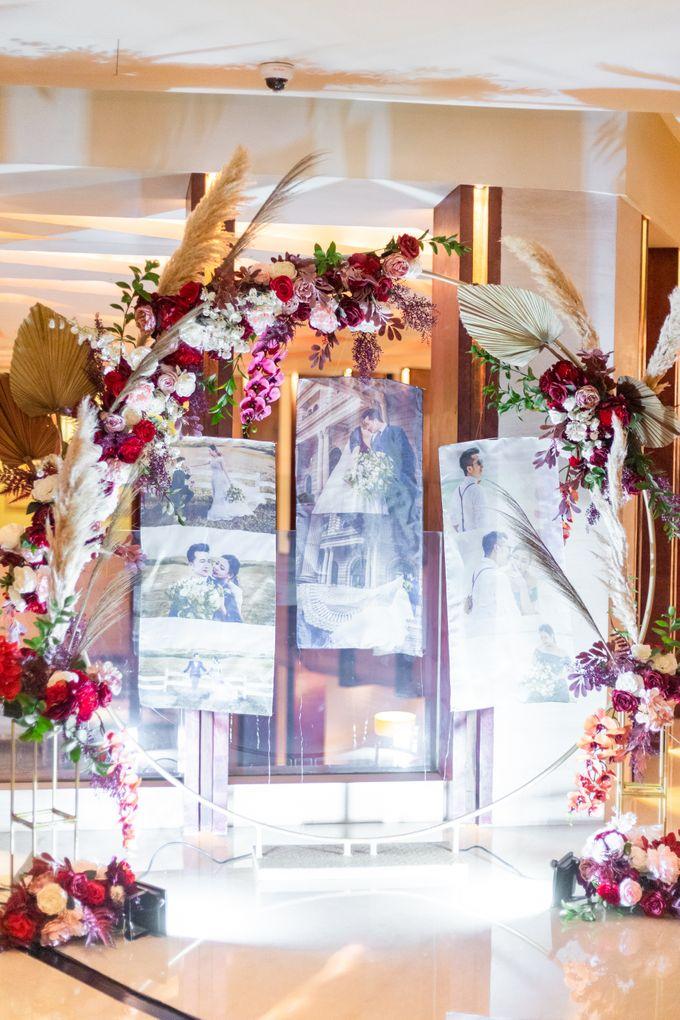 Wedding of Renno & Angeline by Mandarin Oriental, Jakarta - 008