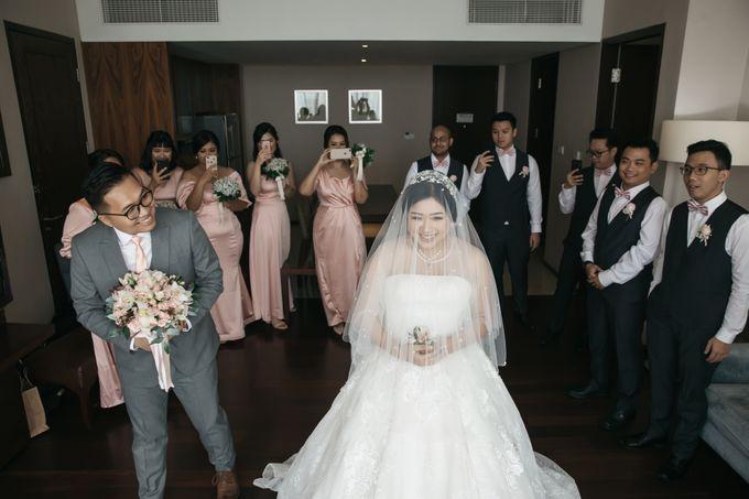Indra & Yoan Wedding at Hilton by PRIDE Organizer - 007