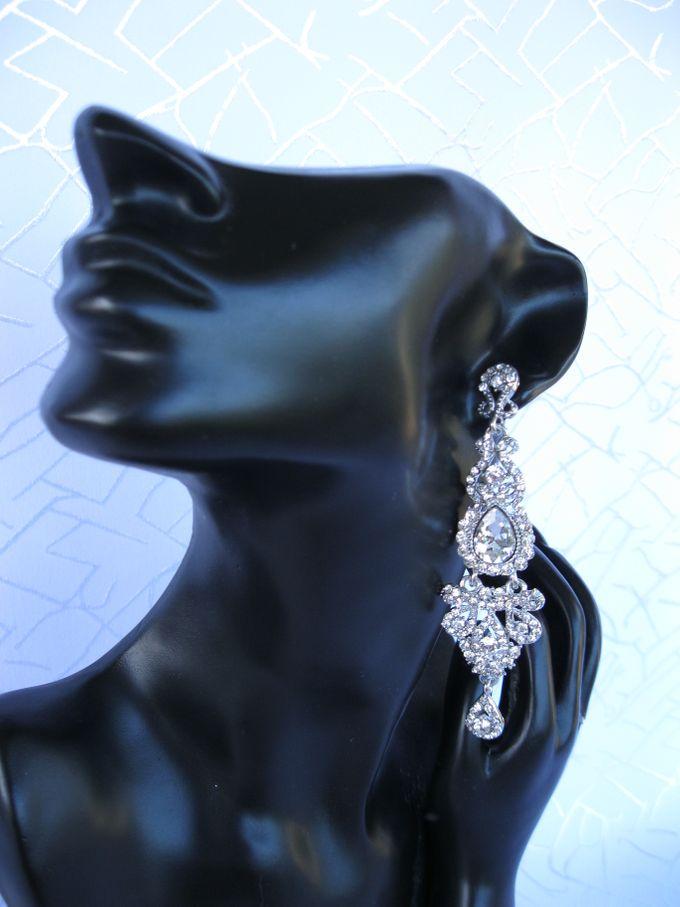 BrIdal Jewelry-Bridal Earrings by Pamela Falli - 004