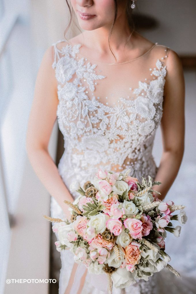 Arfandi & Vanessa Wedding by Anaz Khairunnaz - 001