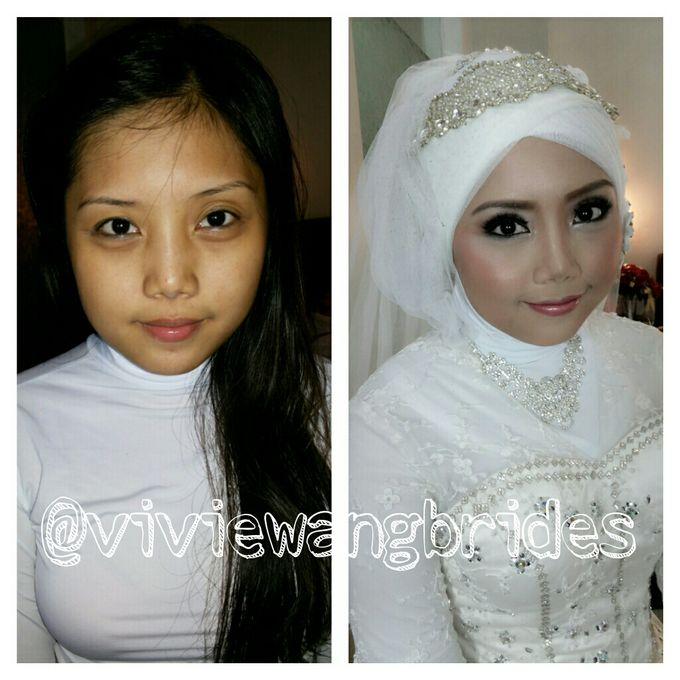 BEFORE AND AFTER by Vivie Wang Brides - 001