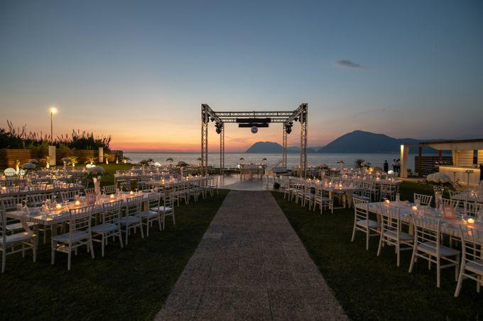 Beach wedding by Diamond Events - 018