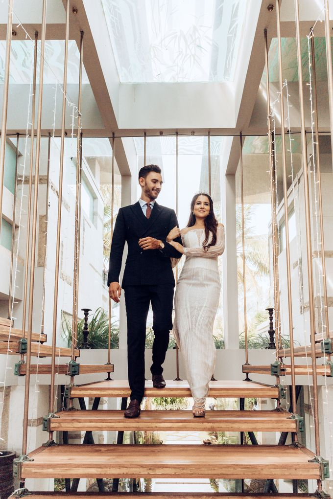 The wedding photoshoot by models by Villa Vedas - 009