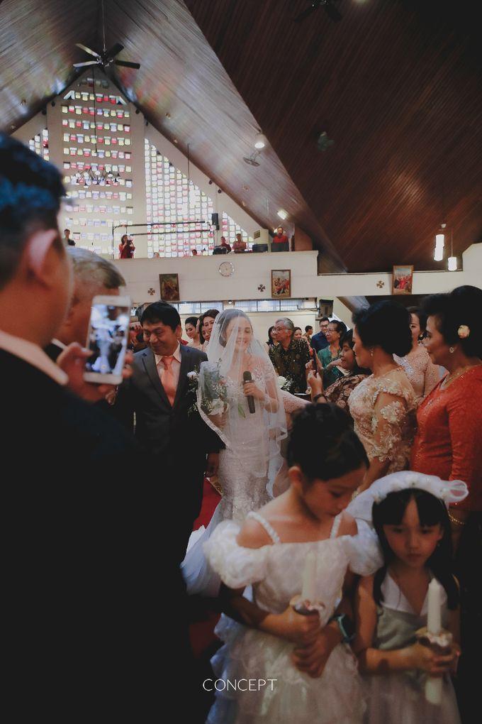 Laura dan Rusman Wedding by Ivone sulistia - 005