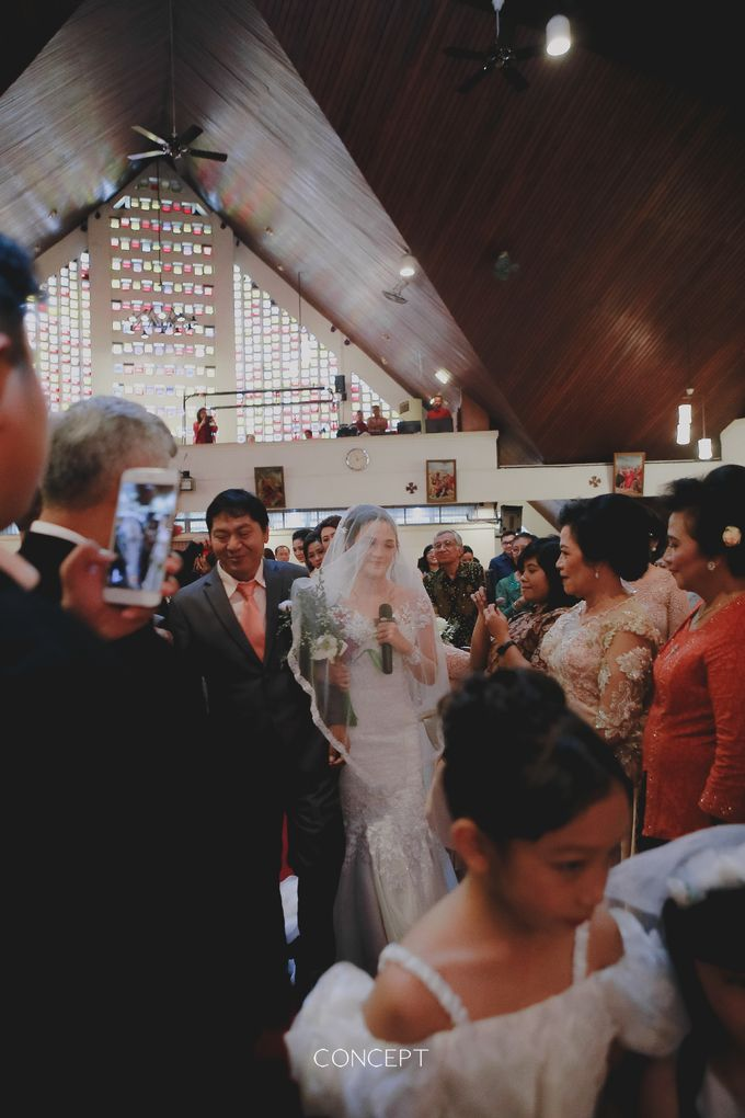 The right way to walk down the aisle by Ivone sulistia - 009