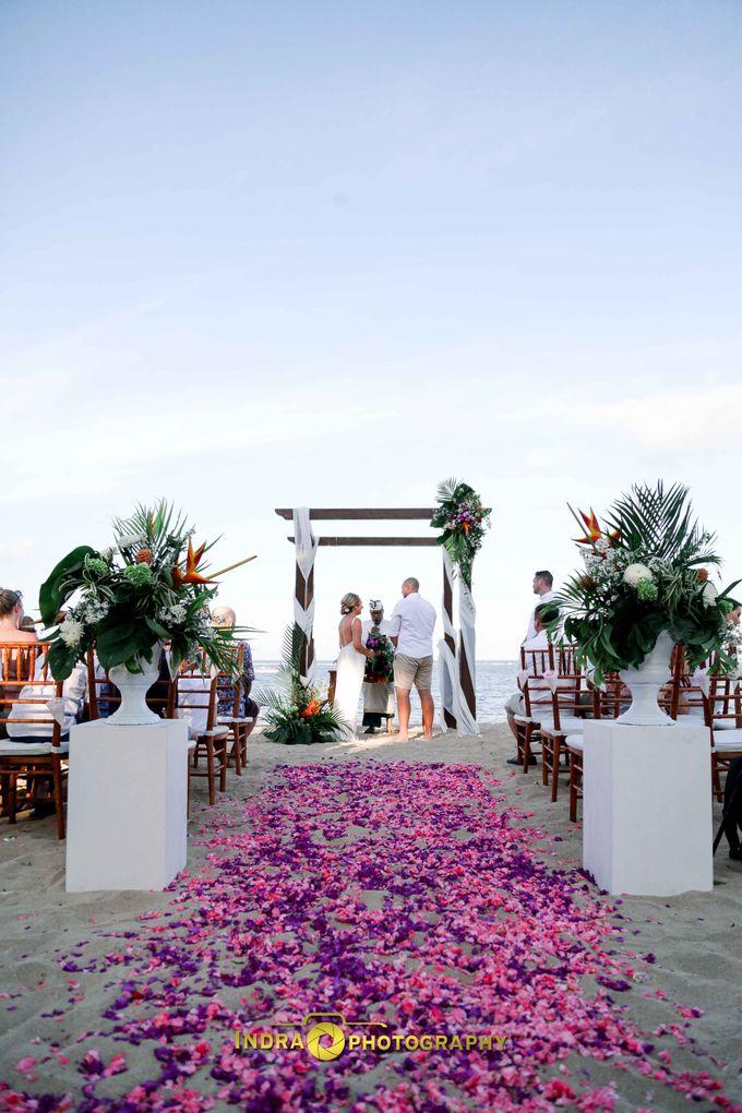 Dan & Hayley Wedding by Holiday Inn Resort Bali Benoa - 003