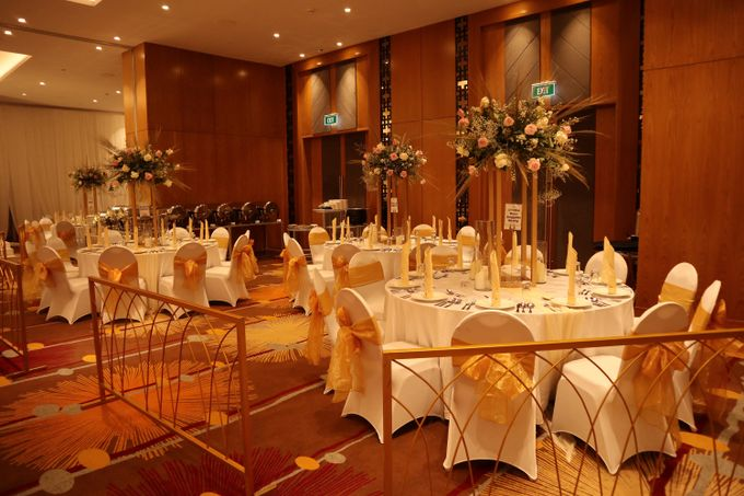 Wedding of  Andre and Stella by Holiday Inn & Suites Jakarta Gajah Mada - 001
