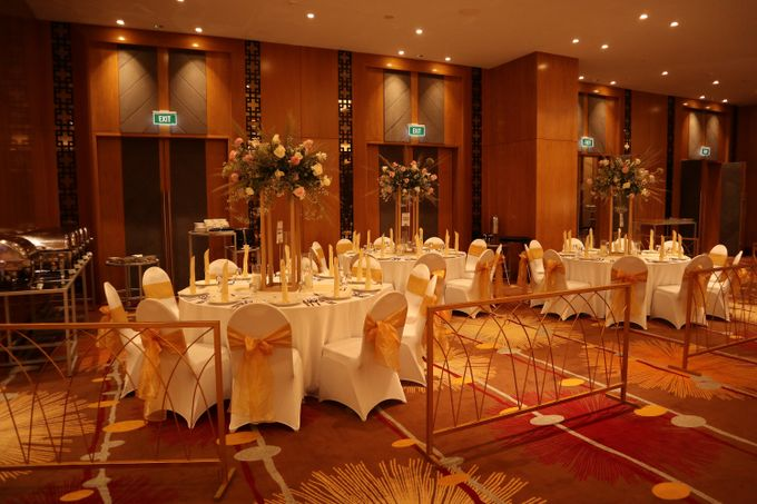 Wedding of  Andre and Stella by Holiday Inn & Suites Jakarta Gajah Mada - 002