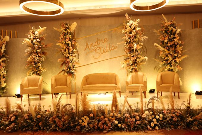 Wedding of  Andre and Stella by Holiday Inn & Suites Jakarta Gajah Mada - 003