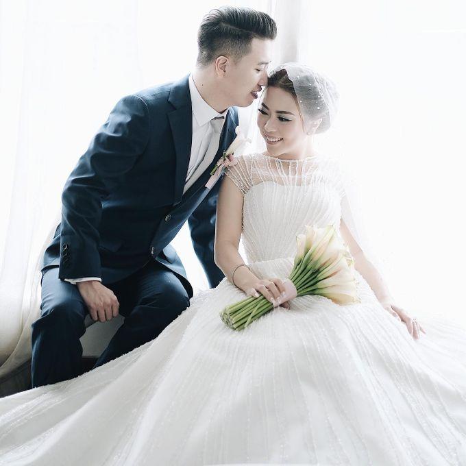 Wedding Day by Dicky - Ming Vina by Hian Tjen - 006