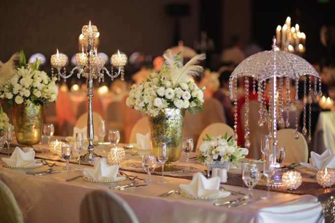 Reception Styling by Natural Art Flowers and Decors - 014