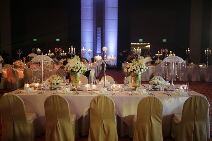 Reception Styling by Natural Art Flowers and Decors - 015