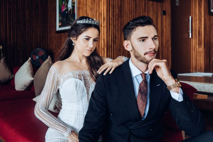 The wedding photoshoot by models by Villa Vedas - 011