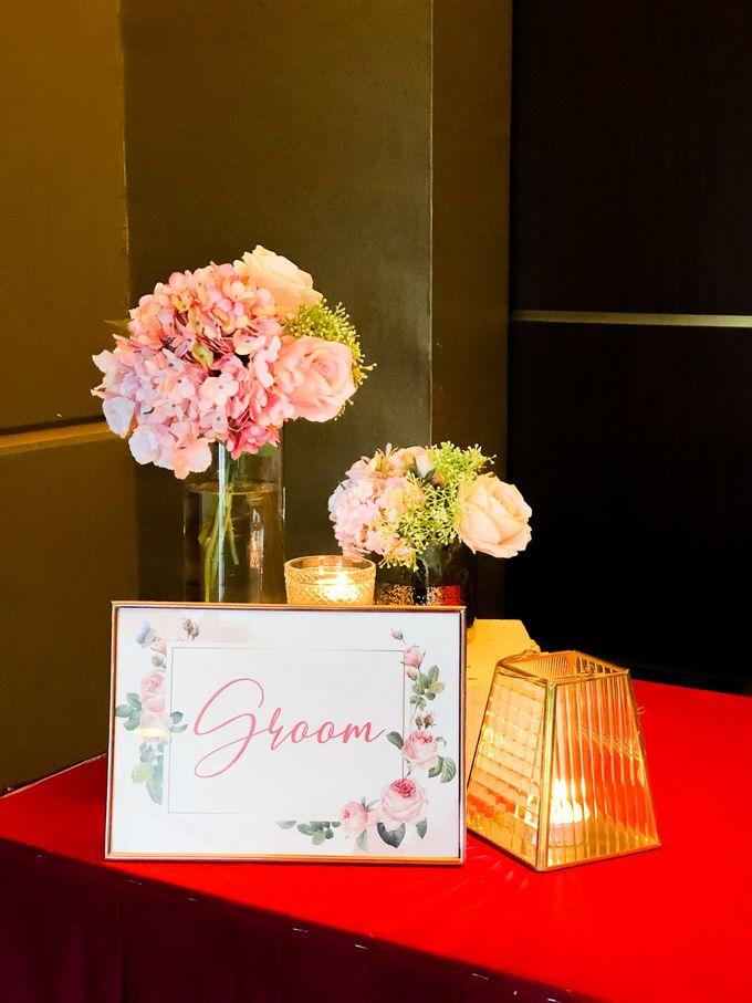 Blush Pink & Glamorous Gold Wedding by Glitz&Glam Studiobooth - 002