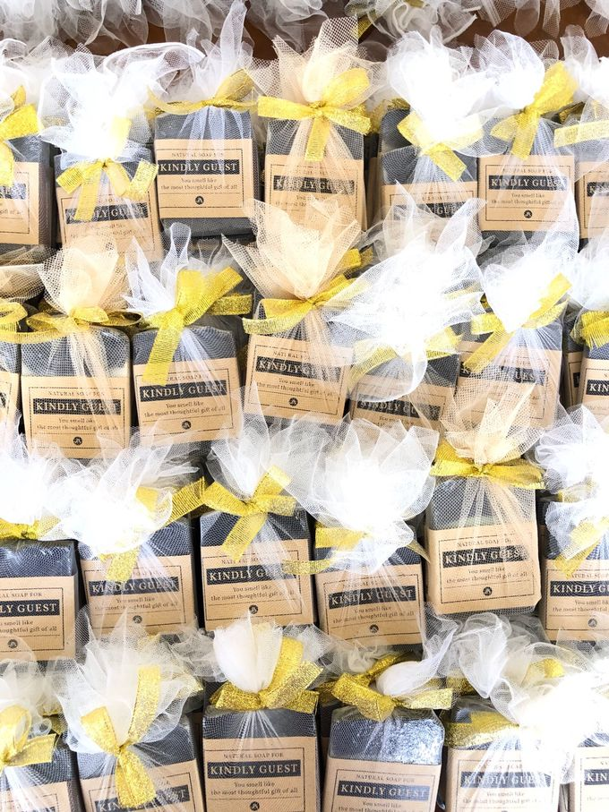 Wedding Favor Of Athaya Jovy By The Soap Project Indonesia