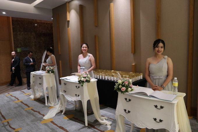 Wedding of  Andre and Stella by Holiday Inn & Suites Jakarta Gajah Mada - 009