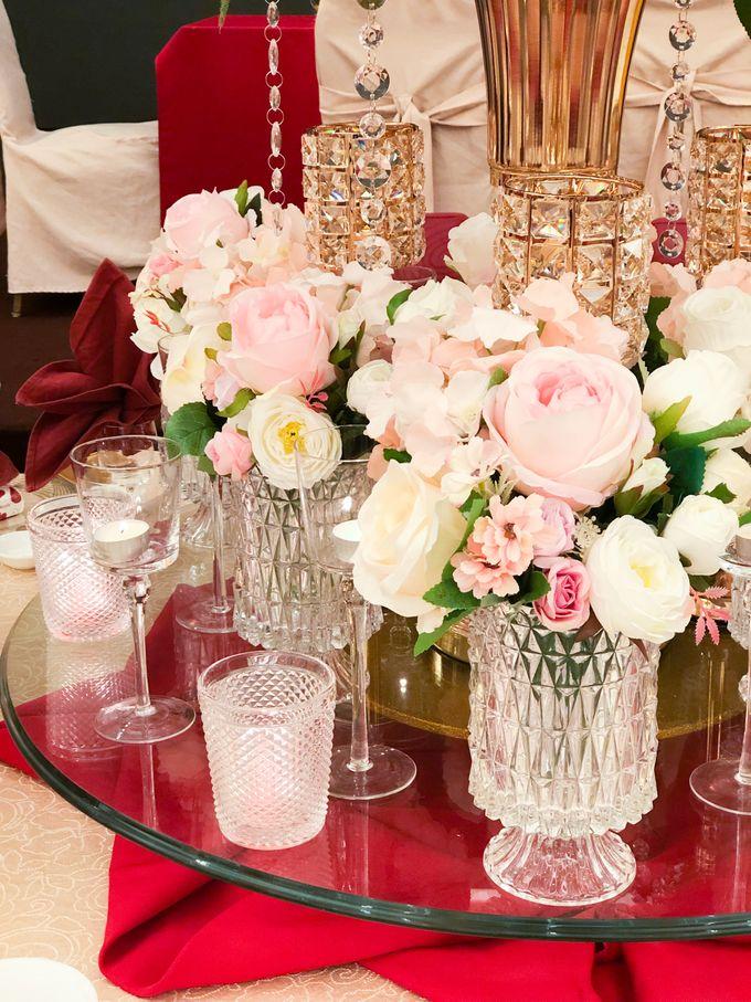 Blush Pink & Glamorous Gold Wedding by Glitz&Glam Studiobooth - 016