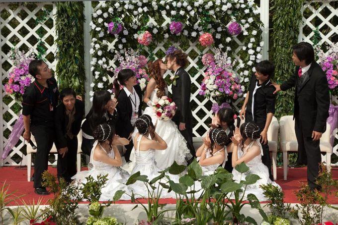 The Wedding Of Natan & Evie by Classic Pagar Ayu - 004
