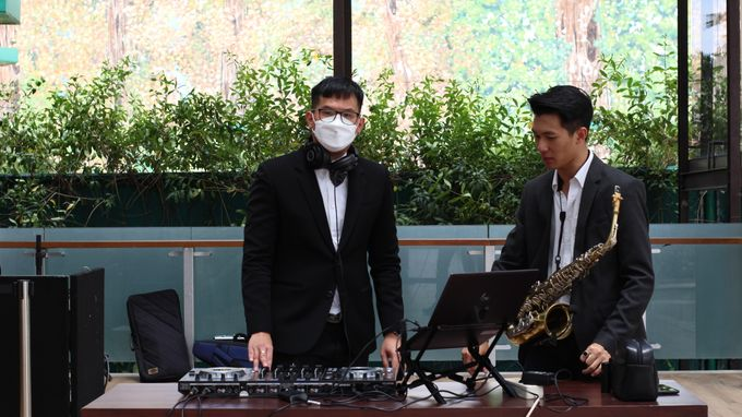 Wedding Reception feat Sax - first show on 2021 by DJ Perpi - 003