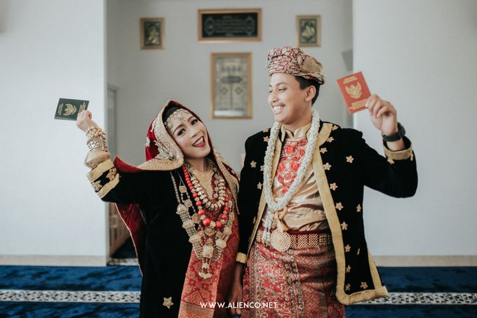Wedding of Ines & Rizki by Muthia Catering - 002