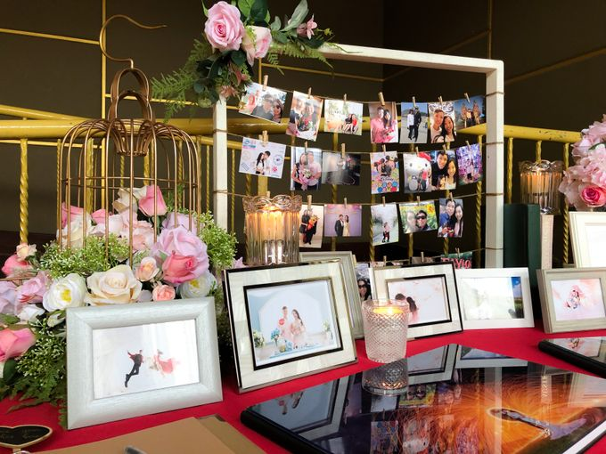Blush Pink & Glamorous Gold Wedding by Glitz&Glam Studiobooth - 003