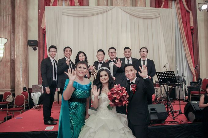 Steven & Sherly Wedding by Twotone Photobooth - 001