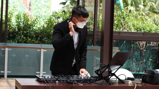 Wedding Reception feat Sax - first show on 2021 by DJ Perpi - 005