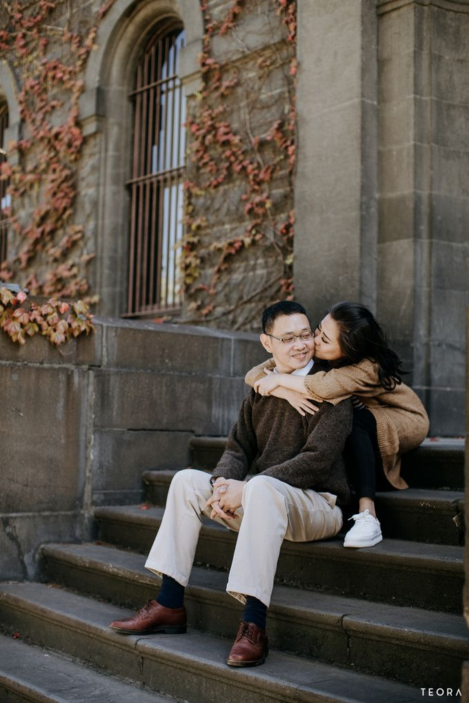Henry & Milla Melbourne Prewedding by Dewi Tan Makeup - 020