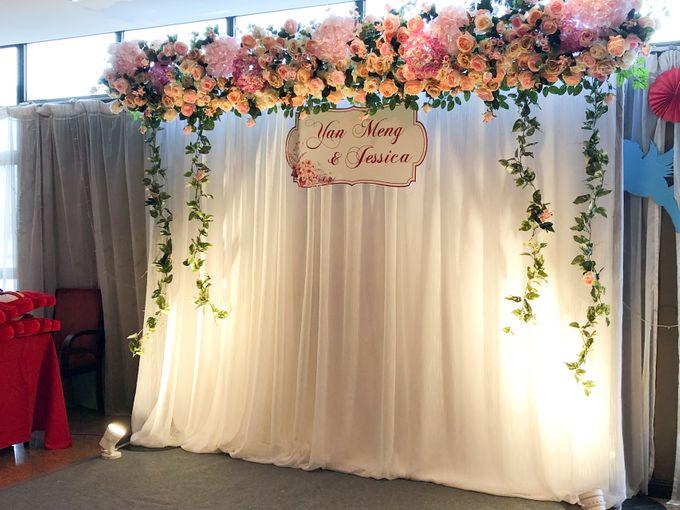 Blush Pink & Glamorous Gold Wedding by Glitz&Glam Studiobooth - 006