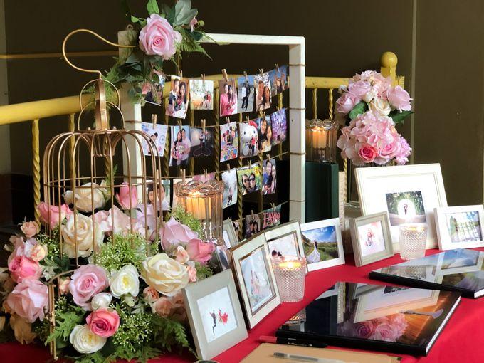 Blush Pink & Glamorous Gold Wedding by Glitz&Glam Studiobooth - 004